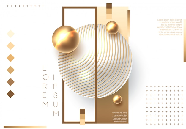 Gouden glanzende perl