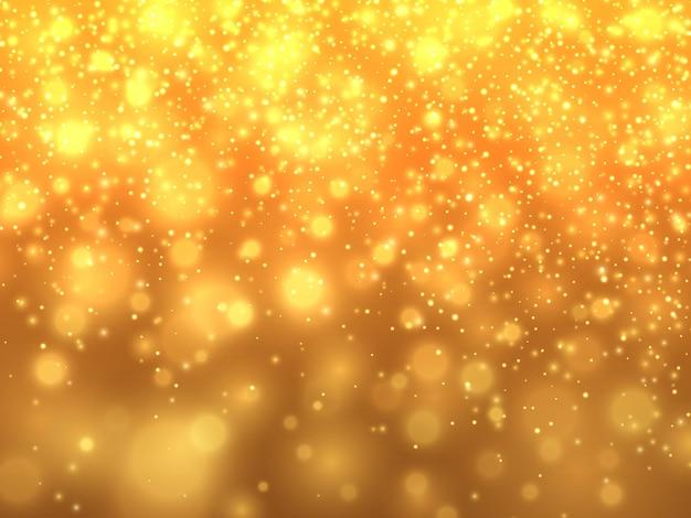 Gouden glitter stardust achtergrond. vector illustratie