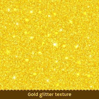 Gouden glitter textuur achtergrond.