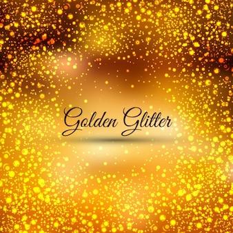 Gouden glitters achtergrond