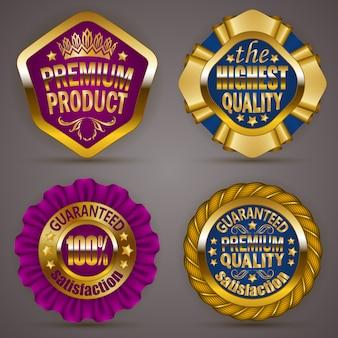 Gouden insignes