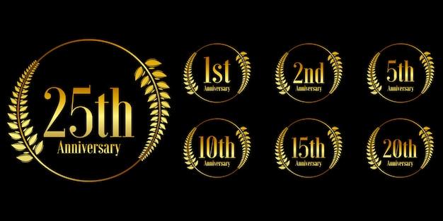 Gouden jubileum ontwerpset