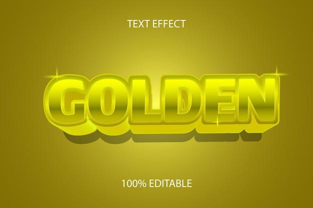 Gouden kleur goud bewerkbaar teksteffect