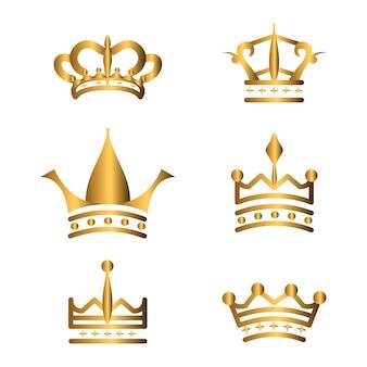 Gouden kronen collectie
