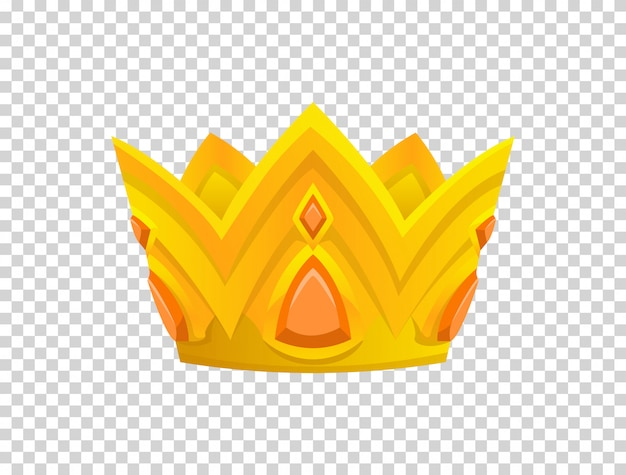 Gouden kroon pictogram