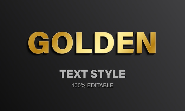 Gouden letters alfabet.