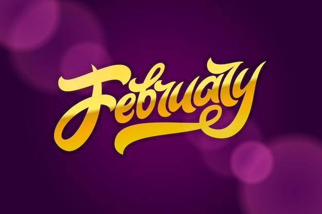 Gouden letters februari