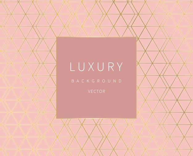 Gouden lijnen. geometrische achtergrond. luxe stijl.
