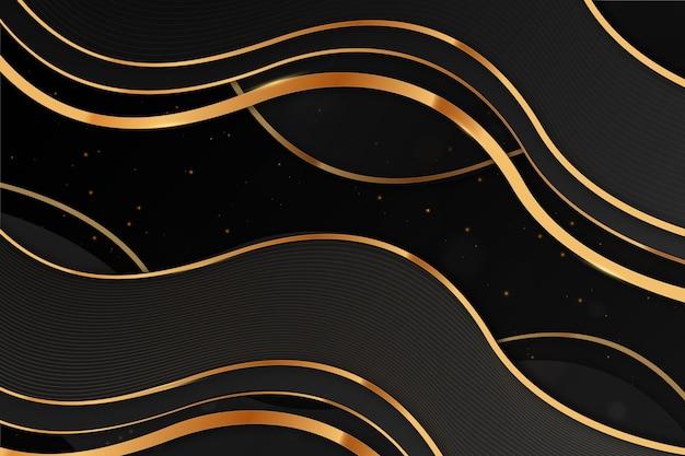 Gouden luxe achtergrond concept