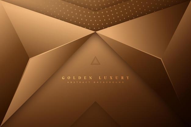 Gouden luxe achtergrondstijl