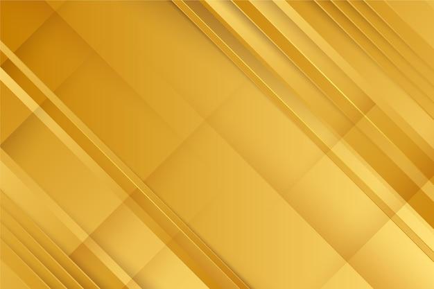Gouden luxe behang