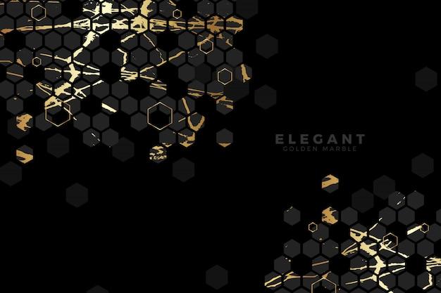 Gouden marmeren luxe achtergrond