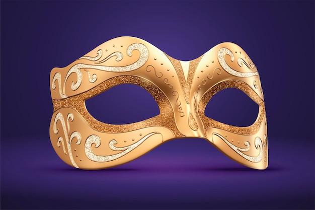 Gouden maskerontwerp