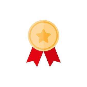 Gouden medaille met ster en lint