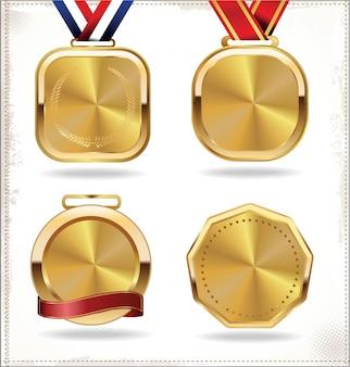 Gouden medaille set