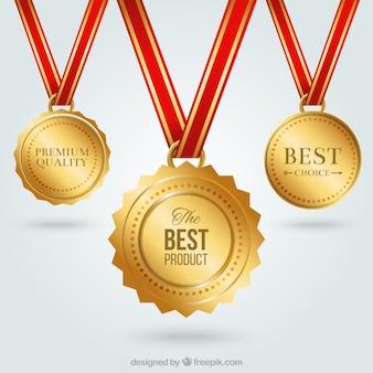 Gouden medailles