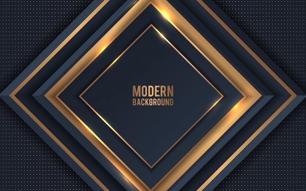 Gouden metaal abstracte vector als achtergrond