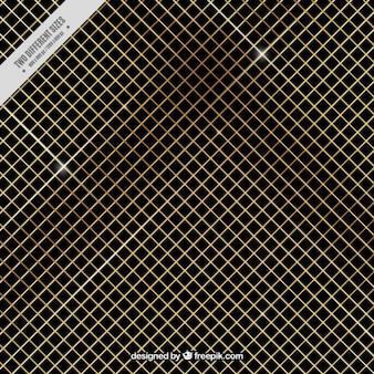 Gouden netto achtergrond