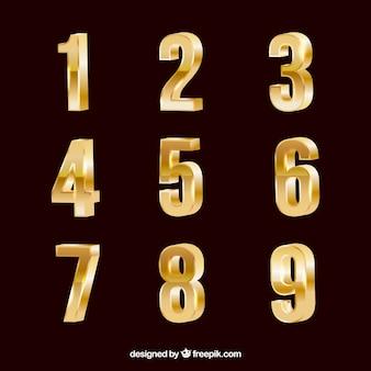 Gouden nummerverzameling