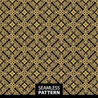 Gouden patroon achtergrond