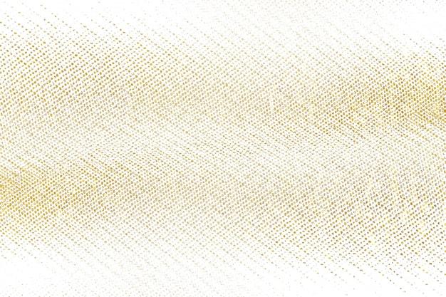 Gouden penseelstreek ontwerp element gebreid doek