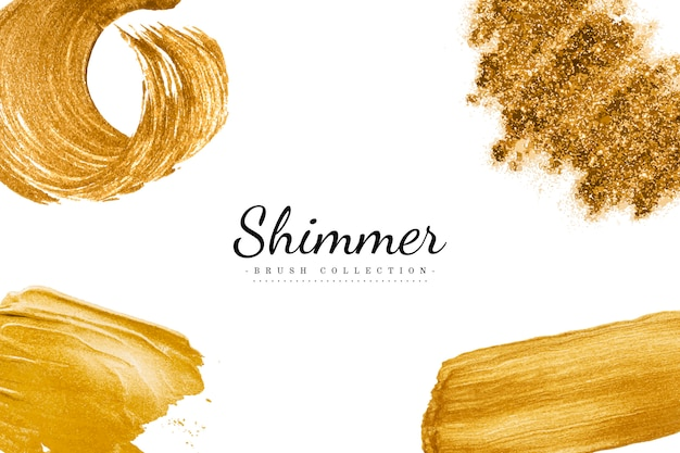 Gouden penseelstreken collectie