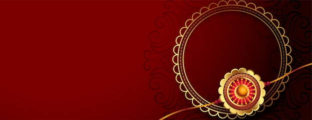 Gouden rakhi voor raksha bandhan festival