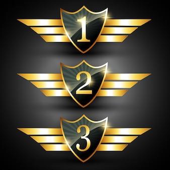 Gouden ranking label