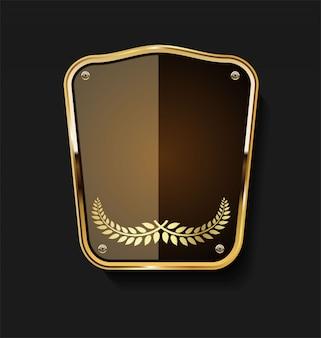 Gouden schild