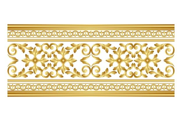 Gouden sierrand
