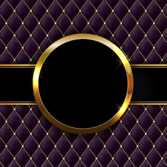 Gouden sprankelende glanzende frame abstracte achtergrond. kan worden gebruikt voor uitnodigingen, ansichtkaarten en vouchers