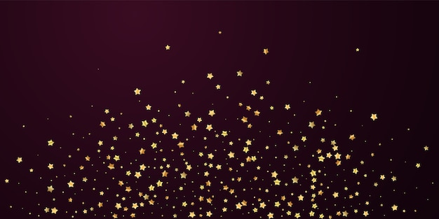 Gouden sterren luxe sprankelende confetti.
