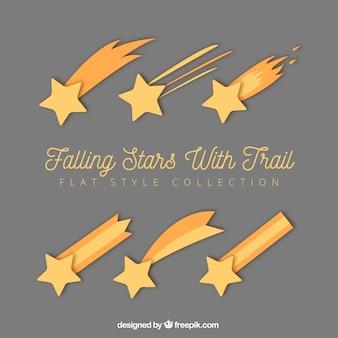 Gouden sterren trail collectie