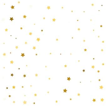 Gouden sterren vallende confetti achtergrond