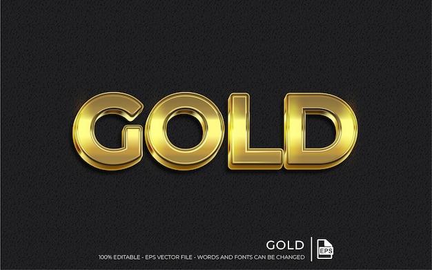 Gouden stijl illustratie sjabloon