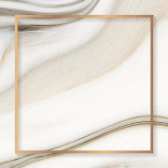 Gouden vierkant frame