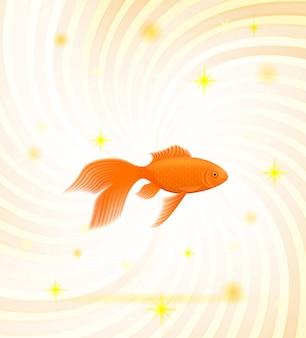 Gouden vis.