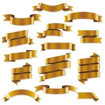 Gouden weblinten set