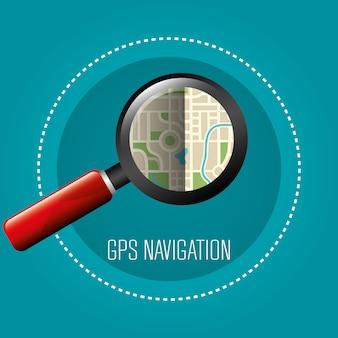 Gps navigatieontwerp