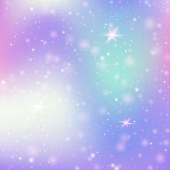 Gradiënt abstracte achtergrond met sparkles