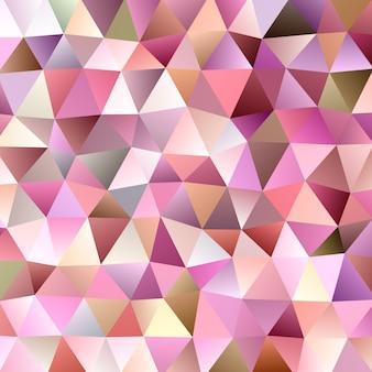 Gradiënt abstracte driehoekige achtergrond sjabloon