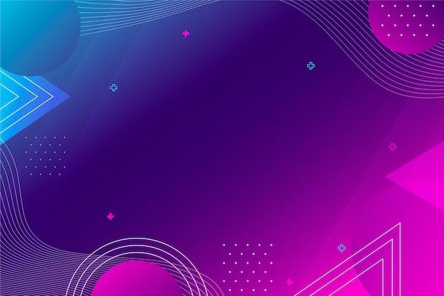 Gradiënt abstracte geometrische achtergrond
