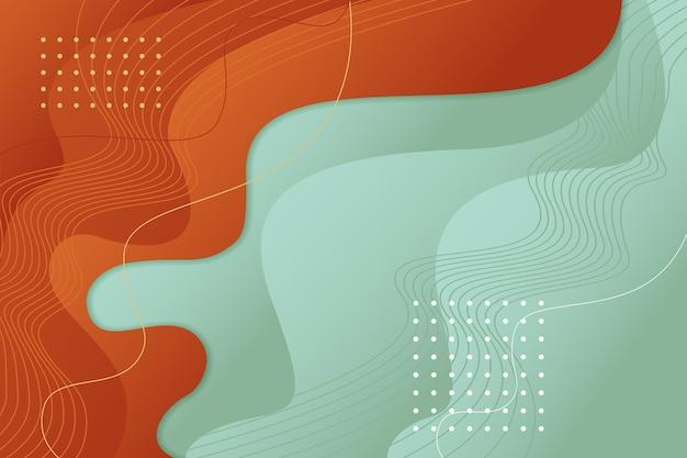 Gradiënt abstracte golvende achtergrond