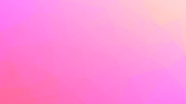 Gradiënt abstracte horizontale driehoek achtergrond. warme roze en gele veelhoekige achtergrond voor bedrijfspresentatie. trendy geometrische abstracte banner. corporate flyer ontwerp. mozaïek stijl.