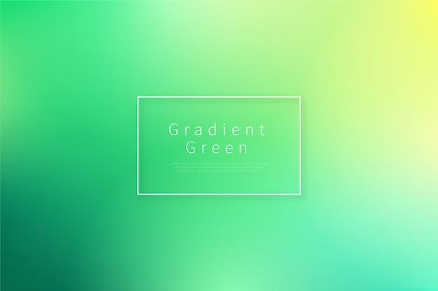 Gradient achtergrond in groene tinten