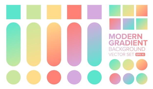 Gradient achtergrond met verschillende kleuren