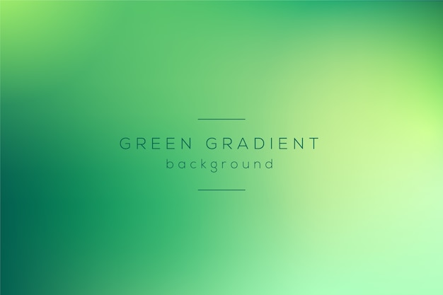 Gradient behang in groene tinten