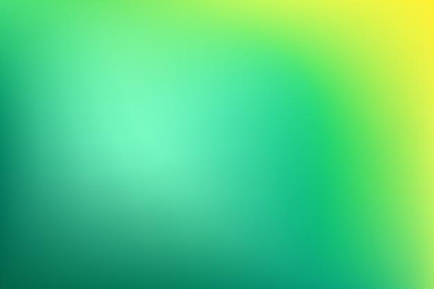 Gradient behang in groene tinten