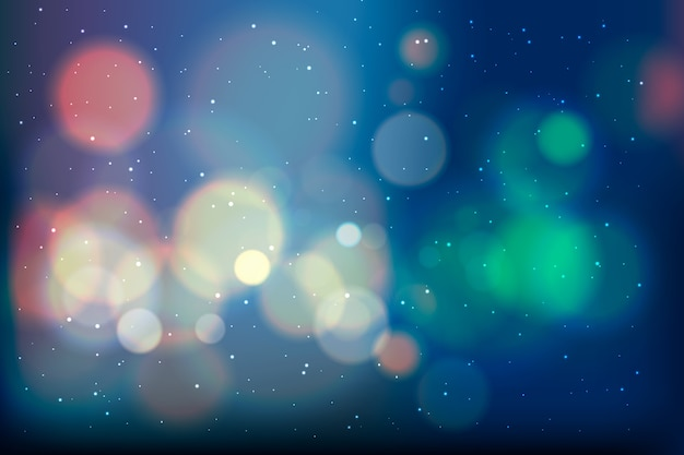 Gradient behang met bokeh-effect