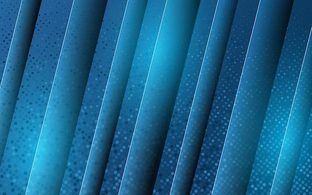 Gradiënt blauwe moderne abstracte achtergrond
